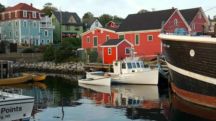photo, image, harbour, lunenburg, first solo road trip