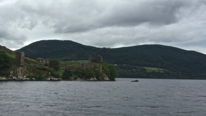 photo, image, Urquhart castle, inverness, scotland