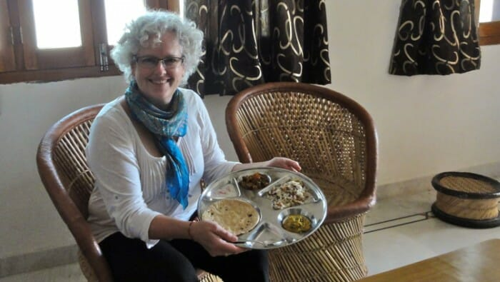 To enter the kitchen of a local in Udaipur, India and learn how she prepares the family meals was an incredible opportunity for learning - how to cook and how a middle class family lives.