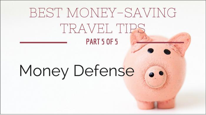 protect money travel