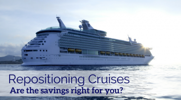 Repositioning Cruises: A Good Deal for Solo Travelers?