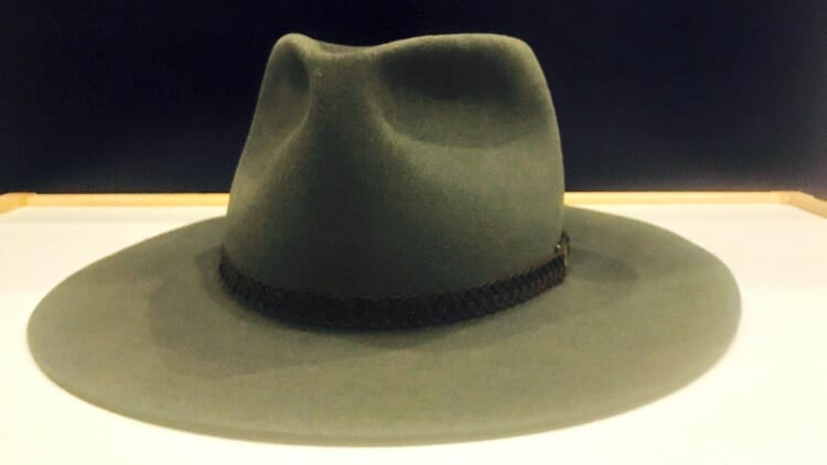 photo, image, akubra hat, solo aboard the ghan