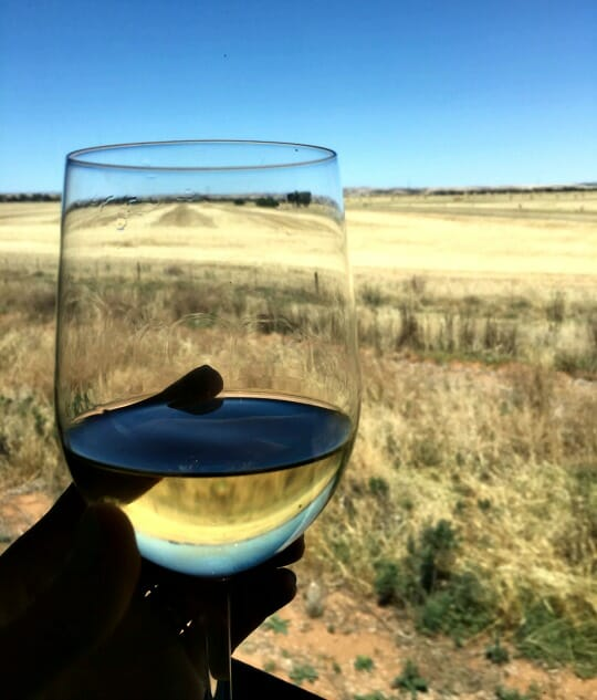 photo, image, wine, solo aboard the ghan, australia