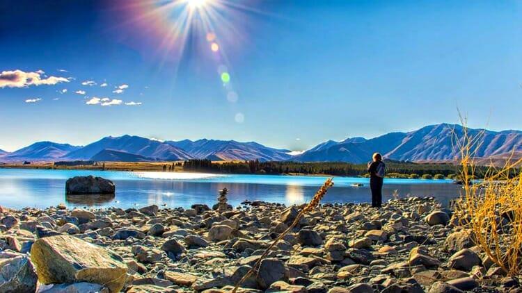 photo, image, lake tekapo, new zealand