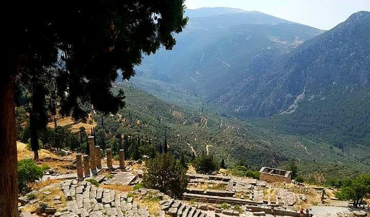 photo, image, delphi, greece