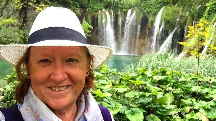 photo, image, traveler, waterfall, vietnam,