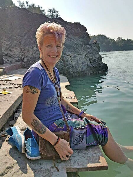 photo, image, woman, ganges, rishikesh, best solo travel memories
