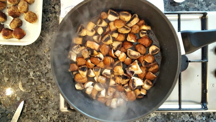 photo, image, mushrooms, culinary cottage, food of wales