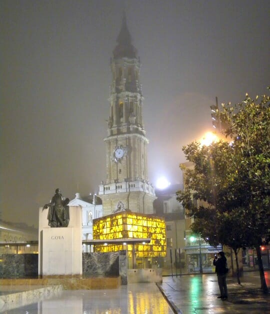 photo, image, el pilar cathedral, zaragoza, spain