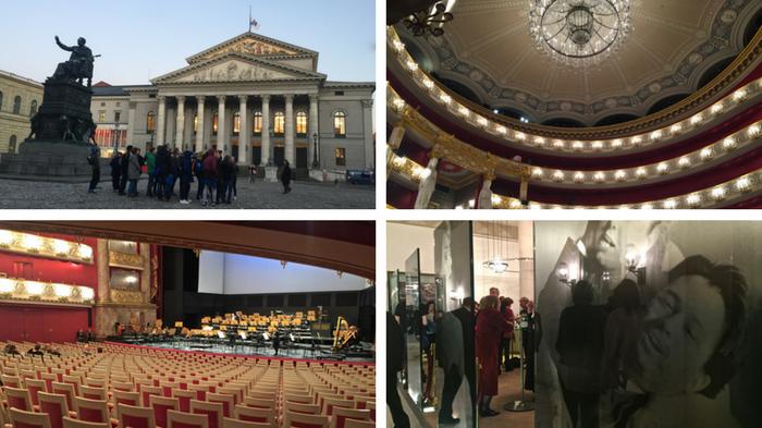 The Staatsoper was destroyed in World War II but built to its original design post-war.