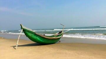 photo, image, fishing boat, da nang, vietnam