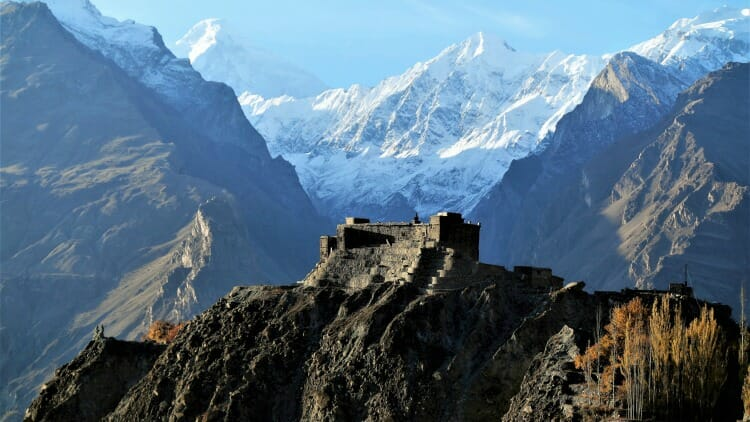 photo, image, baltit fort, karimabad, pakistan