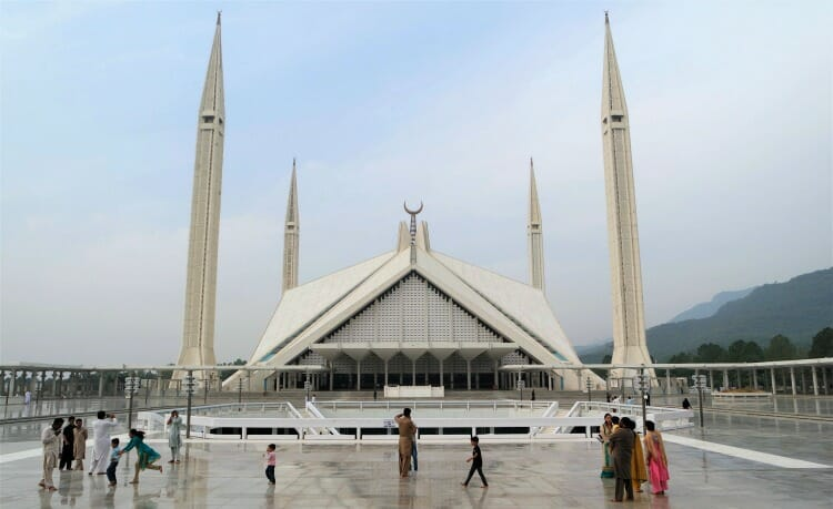 photo, image, Faisal Mosque, Islamabad, Pakistan