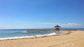photo, image, sanur beach, bali, indonesia