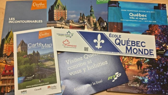 French immersion in quebec city