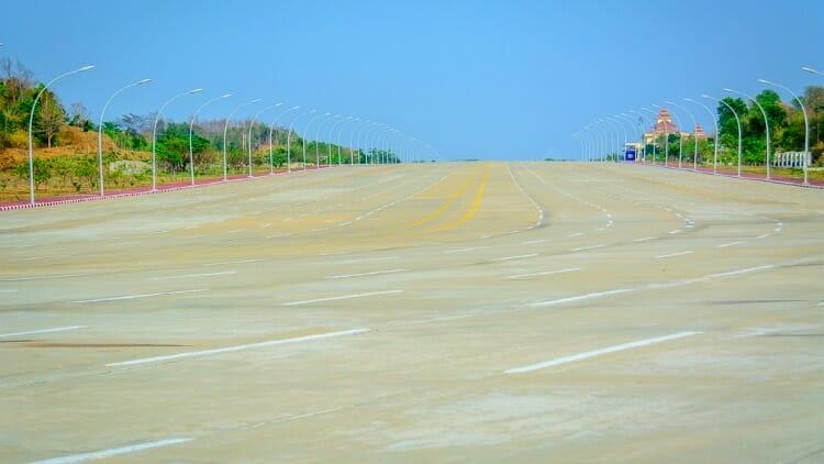 photo, image, streets, naypyidaw, myanmar