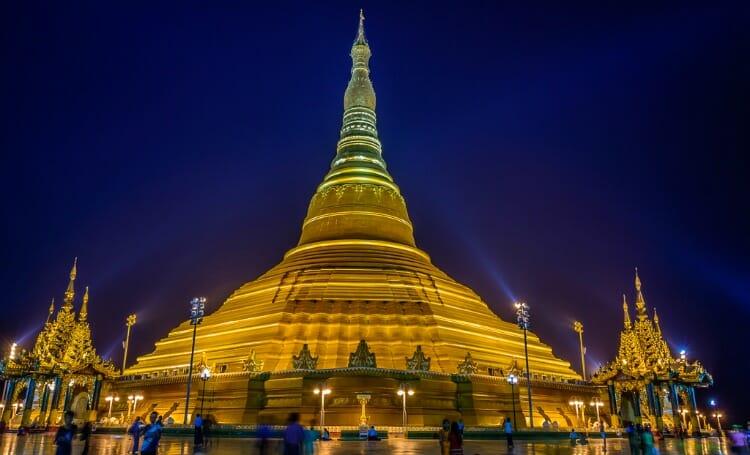 photo, image, Uppatasanti Pagoda, naypyidaw, myanmar