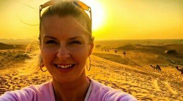 Pic of the Week: Dubai Desert Selfie