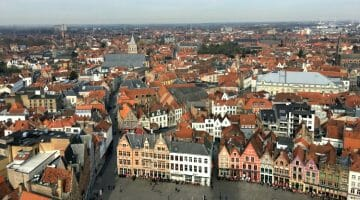 photo, image, city view, bruges, belgium