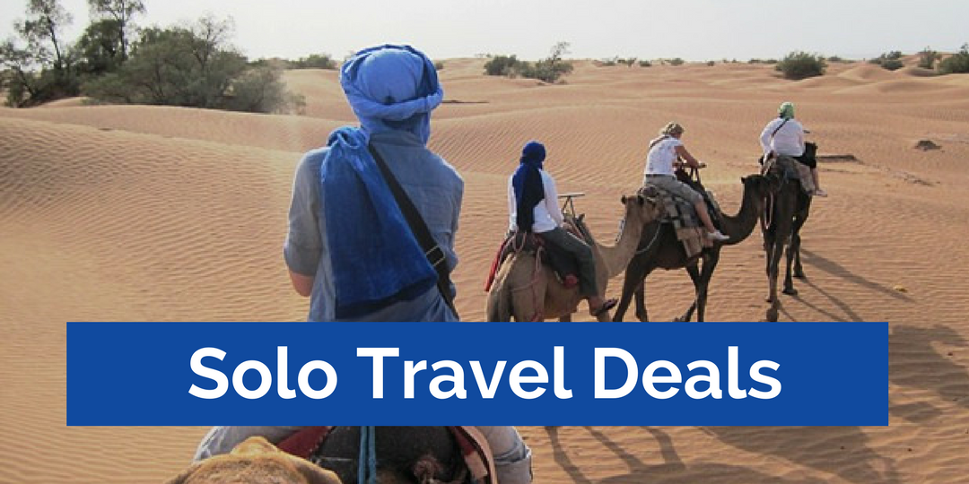 Solo Travel Deals with No Single Supplement