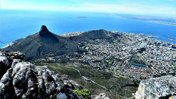 photo, image, table mountain, south africa