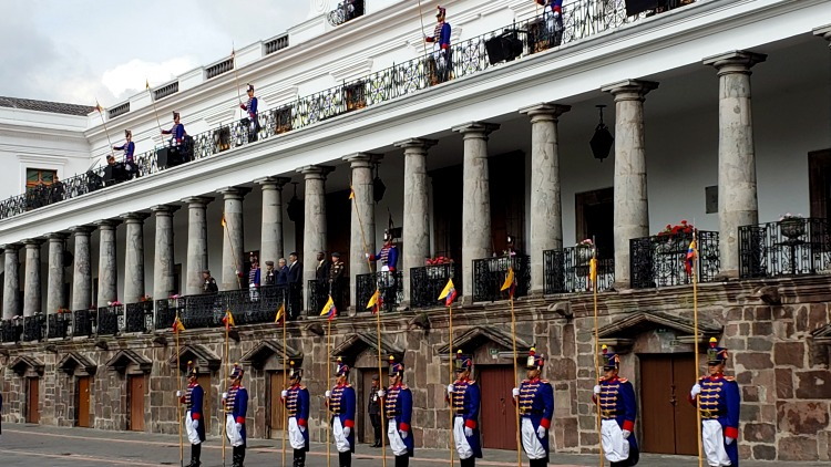 photo, image, palace, quito, ecuador