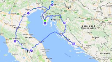 Planning a Road Trip Around the Adriatic: Slovenia, Croatia & Italy