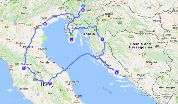 Plan A Road Trip >> Travel Plan Vs Reality European Road Trip Solo Traveler