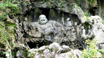 photo, image, laughing buddha, hangzhou, china