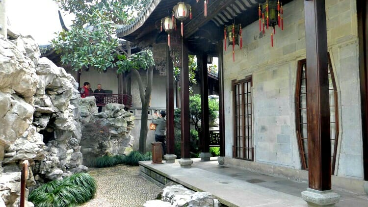 photo, image, garden, hangzhou, china