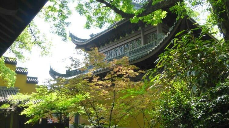 photo, image, yongfu monastery, hangzhou, china