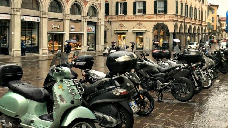photo, image, motorbikes, lake como, italy