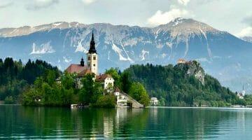photo, image, lake bled, slovenia
