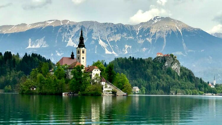 Pic Of The Week Lake Bled Slovenia Solo Traveler