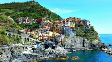 photo, image, manarola, italy