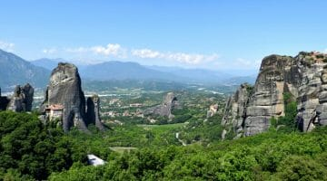 photo, image, landscape, meteora, greece