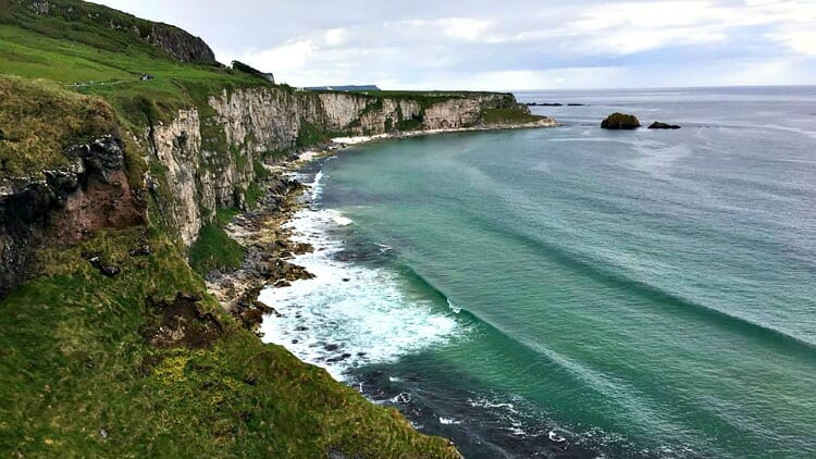 photo, image, coastline, solo travel northern ireland