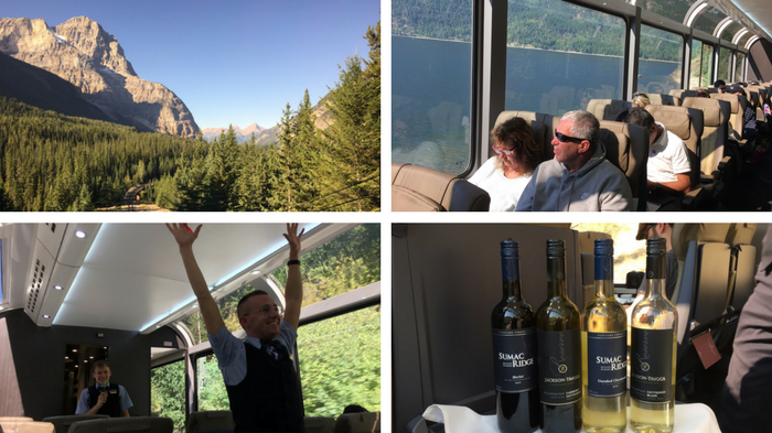 british columbia itinerary top sites by train