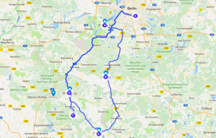 road trip through medieval germany