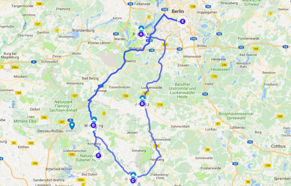 German Medieval Road Trip
