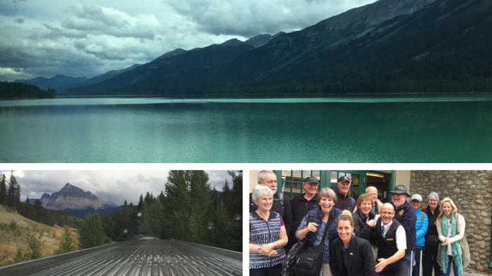 travel british columbia by train via rail