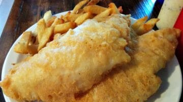 photo, image, fish and chips, food in st. john's
