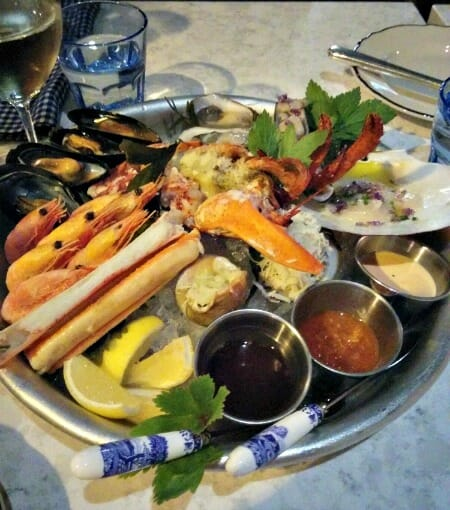photo, image, seafood platter, merchant tavern, food in st. john's