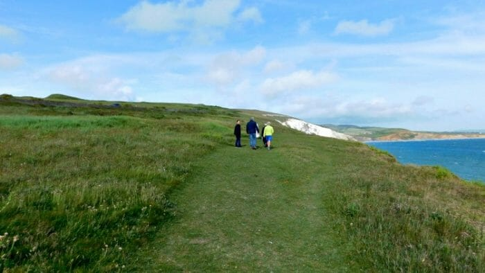 photo, image, walkers, isle of wight