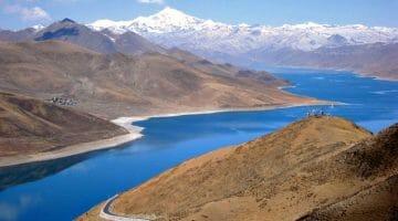 photo, image, yamdrok lake, tibet