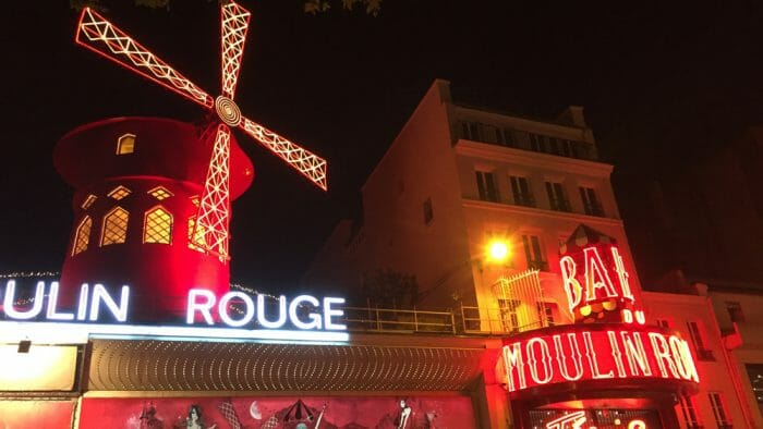 photo, image, moulin rouge, rome and paris