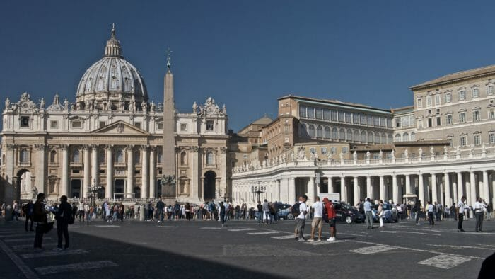 photo, image, st. peter's basilica, rome and paris