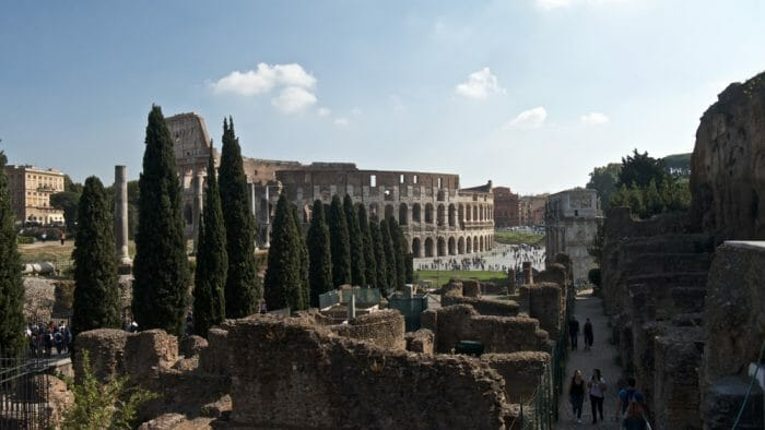 photo, image, coliseum, rome and paris