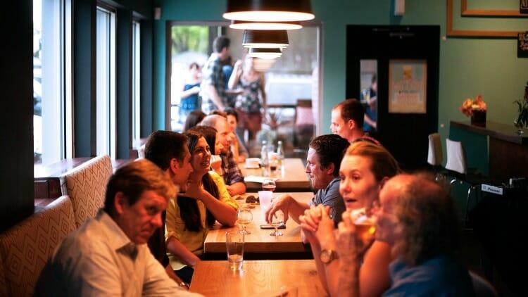 photo, image, restaurant, locals help solo travelers