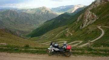 photo, image, mountains of kyrgyzstan